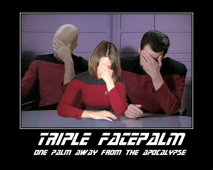 Quadruple facepalm