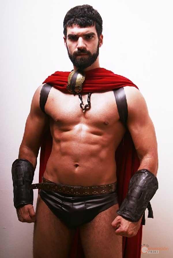 espartanos desnudos historiavera