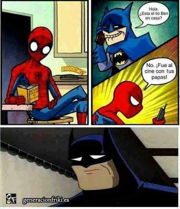 273) 31-03-14 spiderman-batman-padres-Humor