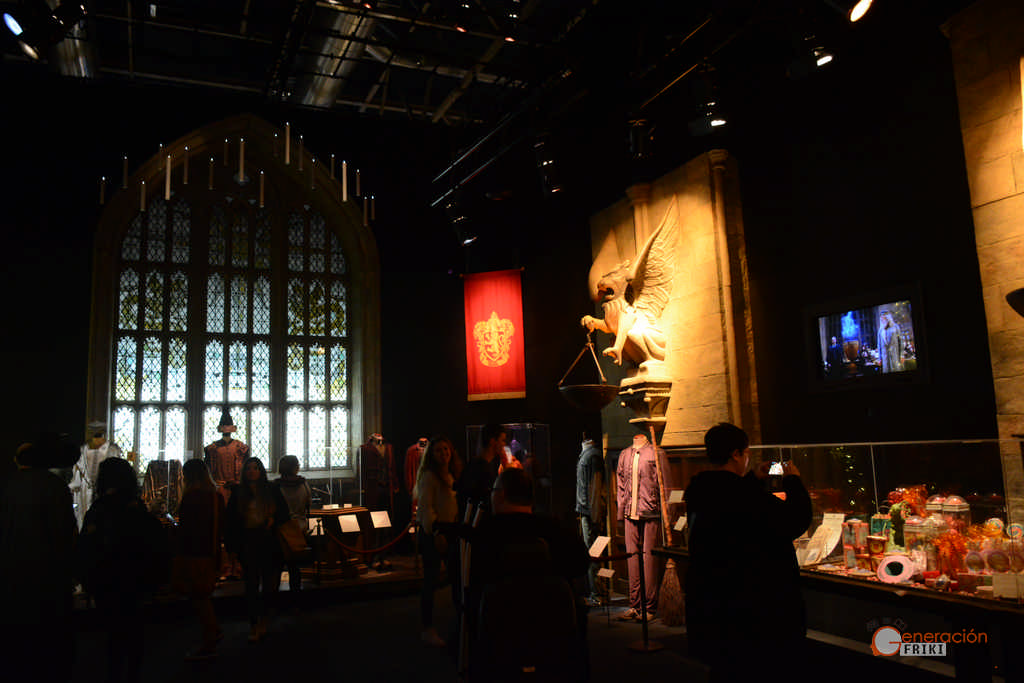 Harry potter the exhibition madrid para los fans y para for Comedor harry potter