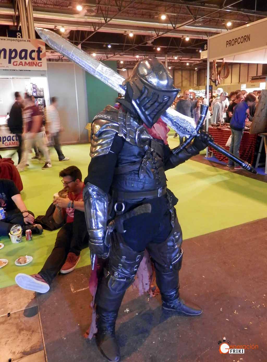 Madrid-Gaming-Experience-2017-Cosplay-Caballero-(Dark-Souls-3)
