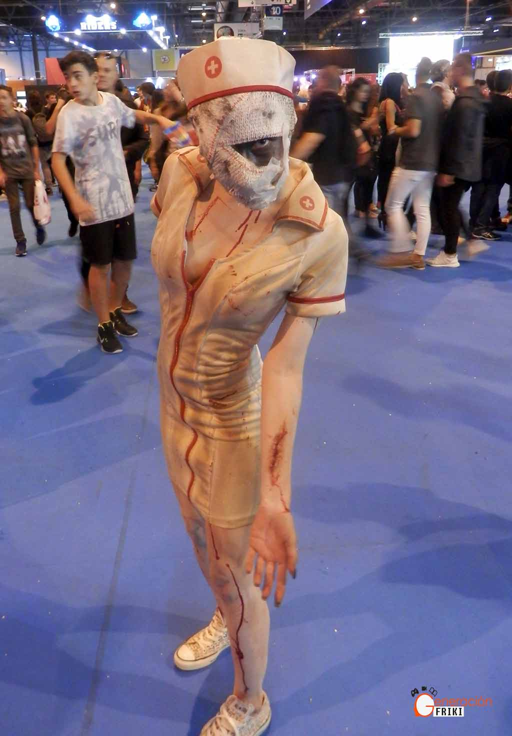 Madrid-Gaming-Experience-2017-Cosplay-Enfermera-(Silent-Hill)