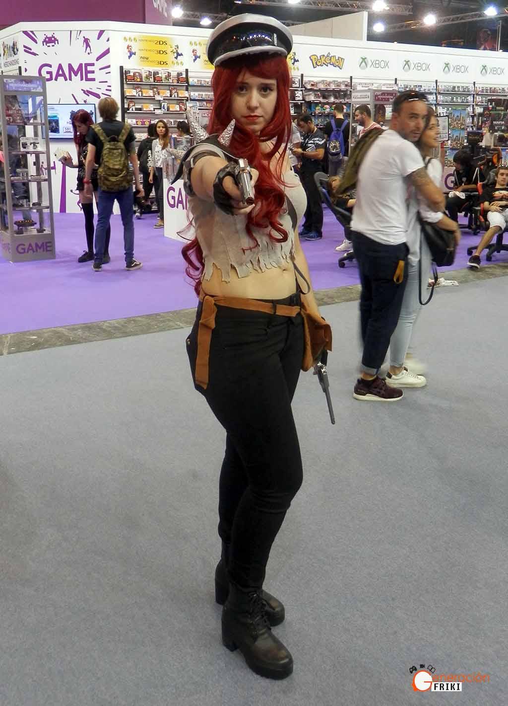 Madrid-Gaming-Experience-2017-Cosplay-Miss-Fortune-Guerrera-de-carretera-(LOL)